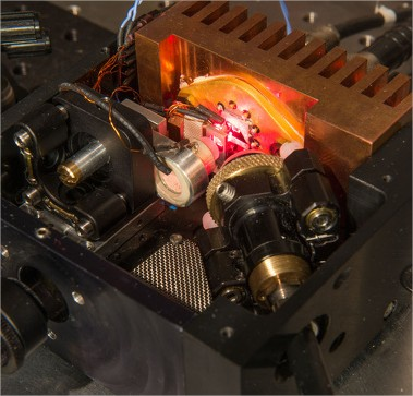 Laser bifréquence