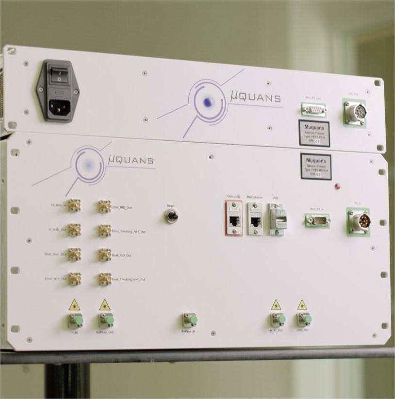 Station laser de régénération du signal…