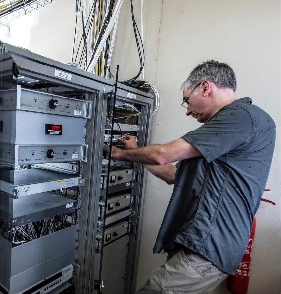 Salle de distribution des signaux